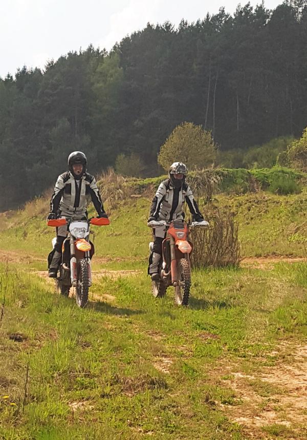 Enduro Training in Mernes