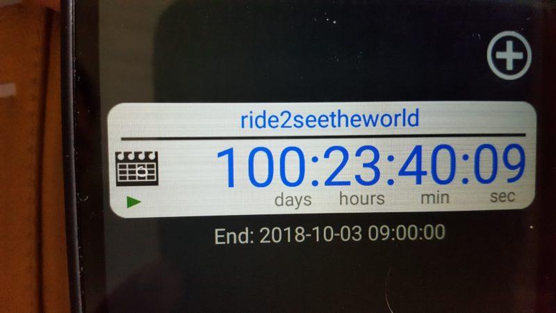100 Tage und der Rest von heute