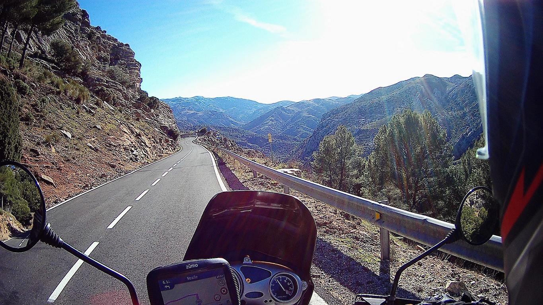 Von Granada in Richtung Norden
