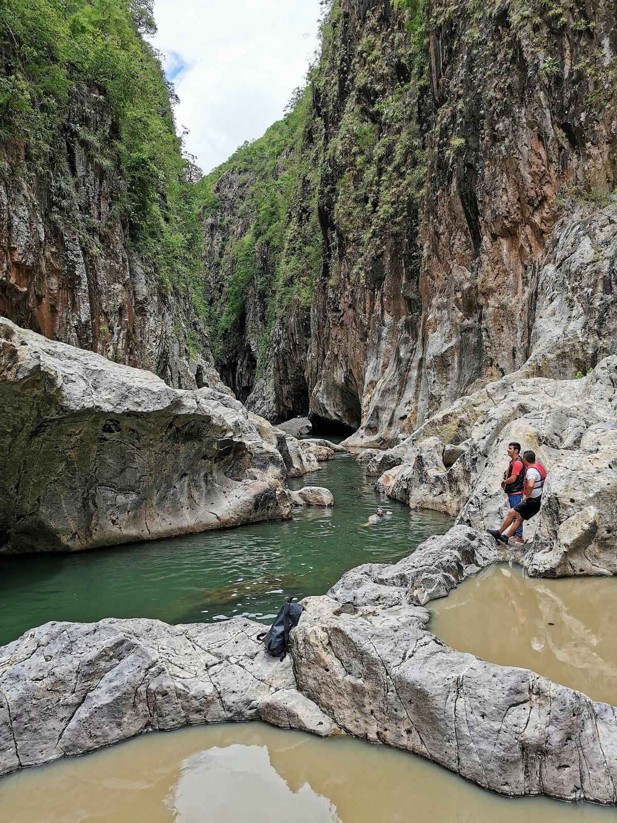 Canyon und Chamanes